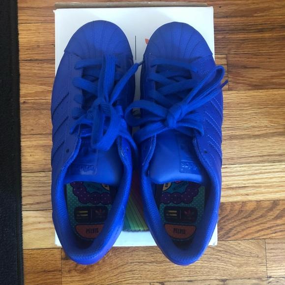 buy online 82bcd 03648 adidas Shoes - Adidas Originals Pharrell Williams supercolor blue